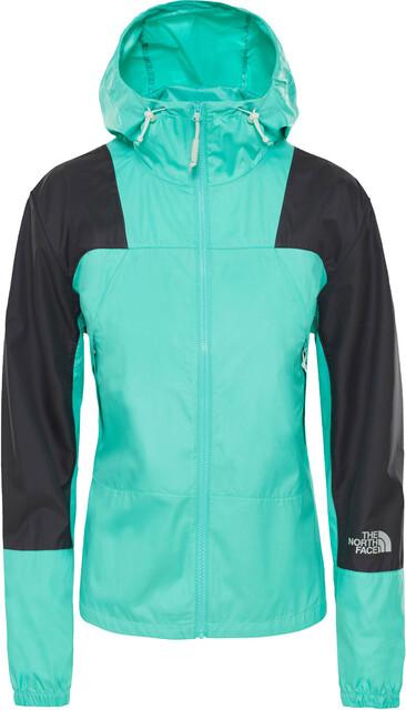 The North Face Mountain Light Windshell Jacket Women, retro green